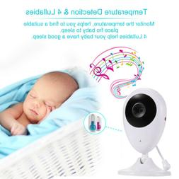 Baby Monitor 2.4'' Color Video Night Vision Baby Speaker Cal