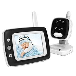 BESTHING Video Baby Monitor with LCD Display, Digital Camera