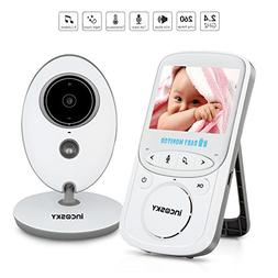 incoSKY Video Baby Monitor Wireless 2.4 GHz Digital IR Camer