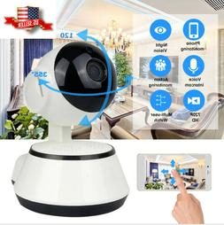 Baby Monitor Wireless Panoramic Night Vision Alarm HD Blueto