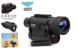 Bestguarder Digital Widescreen Night Vision Monocular with W