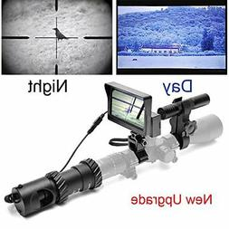 bestsight DIY Rifle Night Vision Scope with CCD and Flashlig