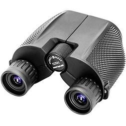 TOPGO Binoculars for adults 10x25 Binocular Folding Wide Ang