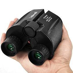 Binoculars for Adults Compact - 10×25 High Powered Lightwei