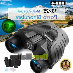 Binoculars for Adults Kids, 10x25 Binoculars BAK4 for Bird W