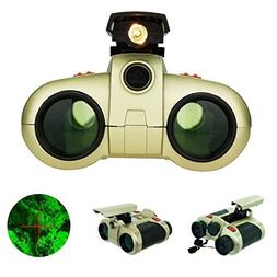 4x30mm Binoculars Telescope For Night Vision Viewer Surveill