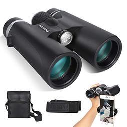 Binoculars for Adults LTTWSF 12x50 HD with Low Light Night V