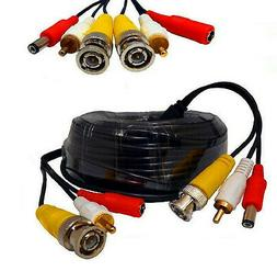 Wennow 70Ft BNC Video/Power/Audio Cable with extension for N