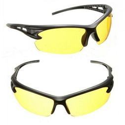 Brand Design yellow lens Night vision Eyeglasses Goggles Man