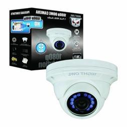 NIGHT OWL CAM-HDA10W-DMA 1080P HD ANALOG WHT AUDIO DOME