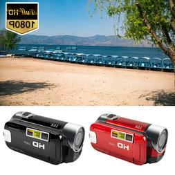 Camcorder Digital Video Camera 1080P HD 16x Zoom DV AV Night