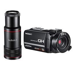 CofunKool Camcorder 1080P Full HD Night Vision Digital Video