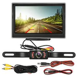 Car Backup Camera Rear View HD Parking System Night Vision +