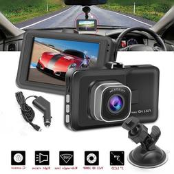Car DVR Dual Lens 170 Degree Wide Angle 3 Inch 1080P WIFI Ca