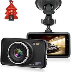 CiBest Car Camera FHD 1080P Vehicle Car Dash Cam Car Video R