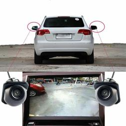 Car Side View Mirror Camera Front Auto Backup Parking 170°