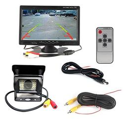 12V 24V Car Vehicle Rear View IR Night Vision Backup Camera