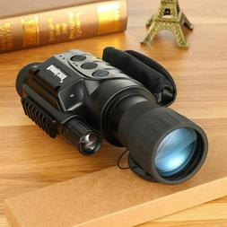 Ccd Monocular Infrared Day And Night Vision Scope  Goggles W