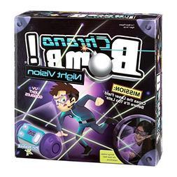 PlayMonster,Chrono Bomb Night Vision - Secret Agent Maze Gam