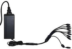 Night Owl Combo DVR/Camera Power Adapter with 9-way Power Sp