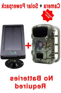Combo Trail Camera withy Solar PowerPack Combo 12MP HD1080 V