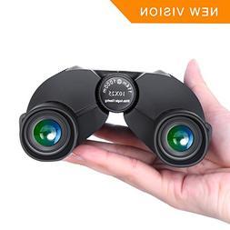 Compact Binoculars Waterproof Binocular 10×25 Weak Light Ni