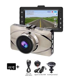 Dash Cam Denicer 1080P Car DVR Dashboard Camera Full HD with