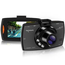 "Dash Cam HD 1080P 2.7"" Car Camera Car On-dash Video Recorder"