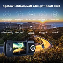 "iNextStation Dash cam, Full HD 1080P 2.7"" Screen 150 Degree"