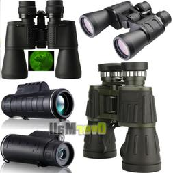 Day&Night Vision Optical Monoculars/Binoculars Hunting Campi