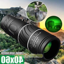 Day Night 40X60 HD Hunting Binoculars Powerful BAK-4 Hiking