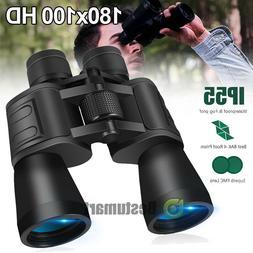 Day/Night 180x100 Military Zoom Binoculars Telescopes Optics