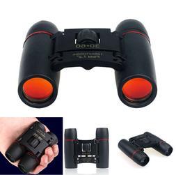 Day Night Vision Binoculars 30 x 60 Zoom Outdoor Travel Fold
