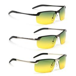 Day Night Vision Men's Polarized Sunglasses Driving Pilot Sp
