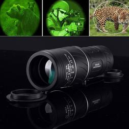 Day Night Vision Telescope 40x60 HD Optical Monocular Huntin