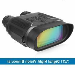 "Digital Night Vision Binocular for Hunting 7x31 2"" TFT LCD H"