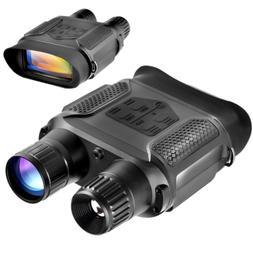 Digital Night Vision Binoculars, QIYAT Infrared 7x31 Waterpr