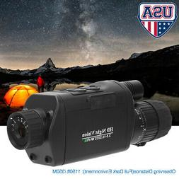 Digital Night Vision Monocular with WiFi HD Infrared IR Came