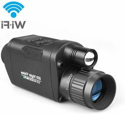 Digital Night Vision Monocular with WiFi, HD Infrared IR Cam