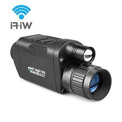 digital night vision monocular with wifi hd
