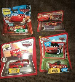 DISNEY CARS McQueen LOT of 4  Night Vision  Smell Swell  Cac