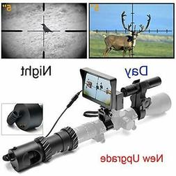 DIY Digital Night Vision Scope For Rifle Hunting With Camera