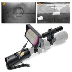 diy digital night vision scope for rifle
