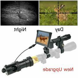 "DIY Digital Night Vision Scope for Rifle Hunting w Camera 5"""