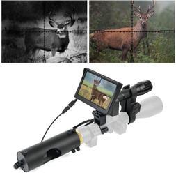 BESTSIGHT DIY Digital Night Vision Scope for riflescopes wit
