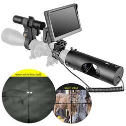 DIY Night Vision Digital Camera for Rifle Scopes