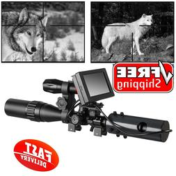 DIY Night Vision Scope Digital Camera For Rifle Scope With I