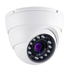 HDView 2.4MP HD-AHD 1080P Outdoor Turbo Platinum Dome Camera