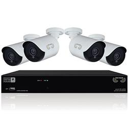 8 Channel 1080p HD Video Security DVR with Integrated Batter