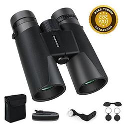 Famecame10x42 Binoculars for Men,Professional Adults Binocul